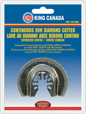 King Canada Tools KW-4806 CONTINUOUS RIM DIAMOND CUTTER depress FEIN 8348 BOSCH