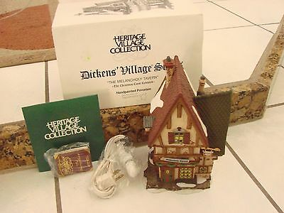 Department  56 Dickens Village The Melancholy Tavern  Christmas Carol revisited