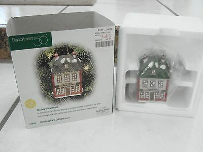 Department 56 Dickens Village Christmas Carol Cottage Fezziwigs Warehouse mini