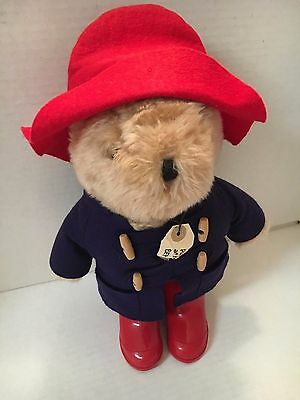 "Vintage Eden PADDINGTON BEAR 1981 Plush Stuffed Animal 14"" tall"