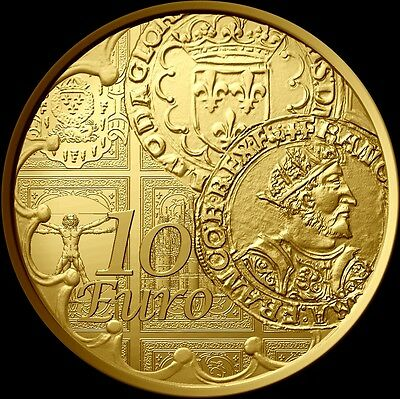La Semeuse 2016 10 Euro Or le Teston BE - Gold coin 1/10 oz