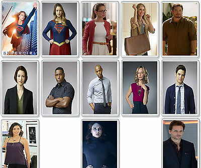 Supergirl Tv Show And Dvd Select Your Character Fridge Magnet Uk Seller