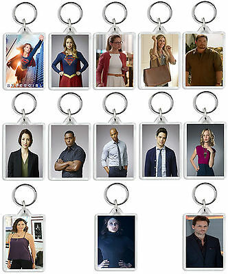Supergirl Tv Show And Dvd Select Your Character Keyring Uk Seller