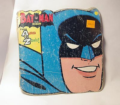 Batman Storybook VINTAGE 1966 Alfred to Zowie- Poor Condition