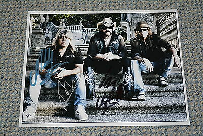 MOTÖRHEAD signed Autogramm 20x25 cm In Person LEMMY KILMISTER