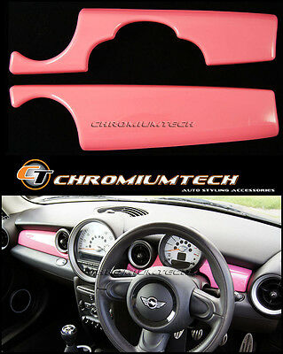 MK2 MINI Cooper/S/ONE PINK Dashboard Panel Trim Cover R55 R56 R57 R58 R59 LHD