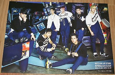 Got7 Got 7 Lotte Pop Up Store Official Goods Identify Poster New