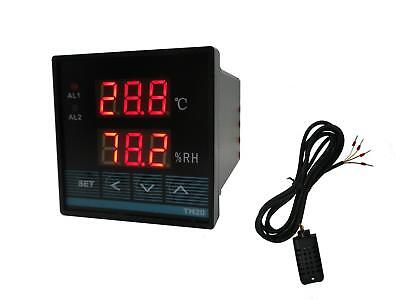 Digital Temperature and Humidity Controller with Relay Output (Celcius)