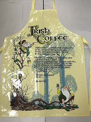 Kitchen Apron - Irish Coffee - PVC Coated - Samuel Lamont - Fully Wipeable