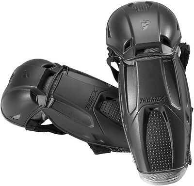 NEW Thor Quadrant Black Elbow Guard Pads ATV BMX SNOWMOBILE MOTORCYCLE MX