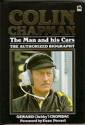 """COLIN CHAPMAN THE MAN & HIS CARS LOTUS F1 Elites, Elans and Europas """"NEW"""""""