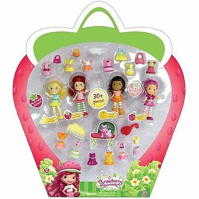 The Bridge Direct, Strawberry Shortcake, Berry Bitty Friends, Exclusive Set and