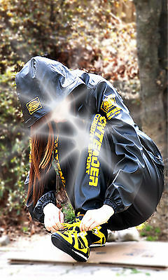 GB Unisex Martial Arts Sweat suit Fitness Diet Gym sauna Boxing body slimming YG