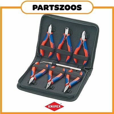 Knipex Electronics Pliers Set 6 Piece 002016 Genuine New Part Tools