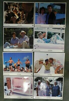 1988 20th Century Fox COCOON THE RETURN 11x14 Lobby Card SET OF 8 VG Condition