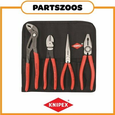 Knipex Plier Tool Roll 4 Piece 0035 Genuine New Part Kit Set
