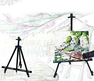 Art Drawing Adjustable Stand Artist Tripod Display Sketching Painting Exhibition