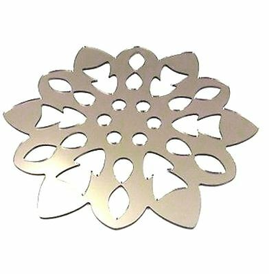 Mirrored Snowflake Shaped Coasters