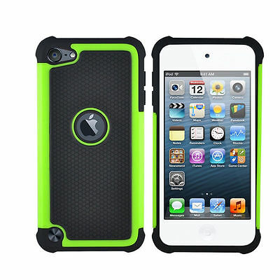 Hot Triple ShockProof Silicon Case Cover For IPod Touch 4th Generation Gen