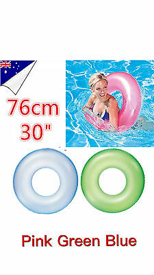"Bestway Adult Kid Inflatable Swimming Ring Floating Beach Toy Swim Ring 30""/76cm"