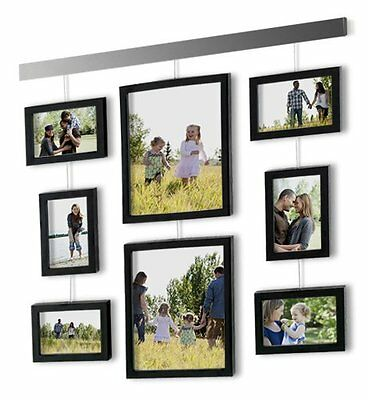 hanging picture frame gallery 9 pieces wall decor family collage art set home