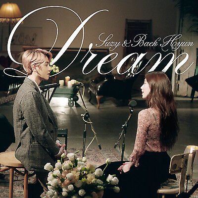 SUZY&BAEKHYUN Single Album [DREAM] CD+Booklet (EXO, missA) New Sealed K-POP