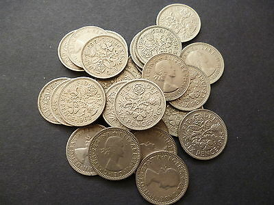 Sixpence Coin Queen Elizabeth 2Nd Good Used (Circulated) Condition Select Date