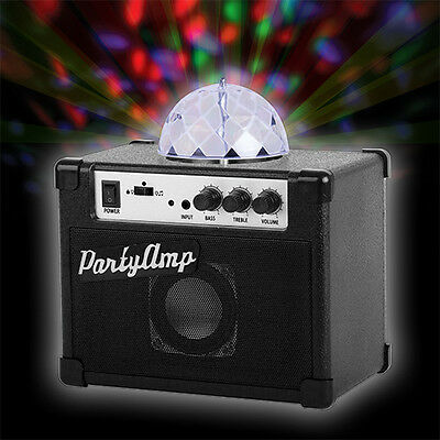Party Amp Speaker And Light In One Phone AUX Disco