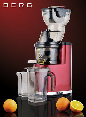 BERG J PRO 250W Slow / Masticating WHOLE Juicer RRP £299 ***45% OFF***