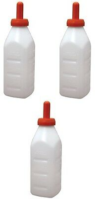 # 973 Advance 2 Qt Calf 36 Livestock Screw Top Nursing Bottle Sets