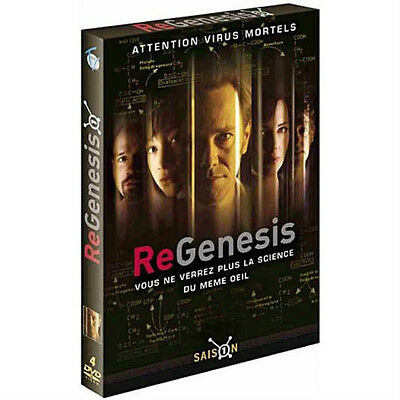 Coffrets DVD ReGenesis Saison 1 + Saison 2 Neuf Science fiction, virus