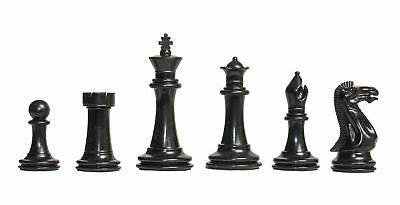 """USCF Sales The Big Knight Plastic Chess Set - Pieces Only - 3.875"""" King"""