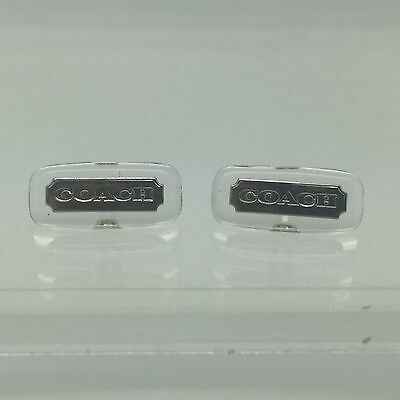 Authentic Coach Nose Pads Screw On Style Silver. New!!