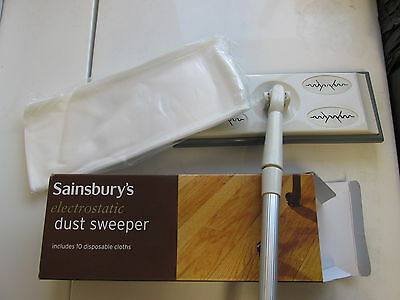 Joblot!!! 12 Sainsburys Dust sweepers only £12.95  RRP 6.99 each! Free Postage!
