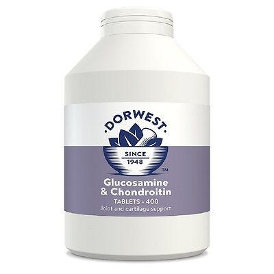 Dorwest Glucosamine and Chondroitin Tablets x400, Premium Service, fast dispatch