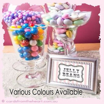 10 Candy Bar Buffet Card TAG Sweet Lolly Label Wedding Party Baby table DIY