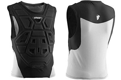 New S/M 2016 Thor Comp Protector Foam Deflector Vest Motocross Body Armour