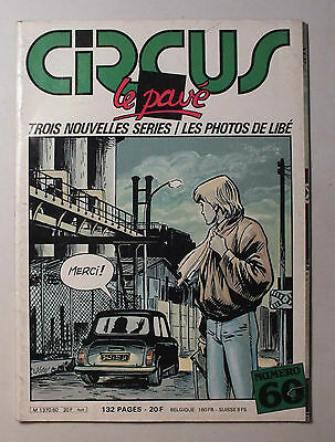 Circus - Le Pave - N° 60 - Avril 1983 *
