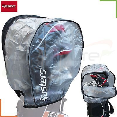 Masters - Elasticated Waterproof Clear Rain Hood With Zip for Golf Club Bag