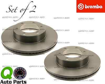 fits Toyota Sequoia 2001-2007 /&Tundra 00-10//2006 Brembo Rotors 25534 Set of 2