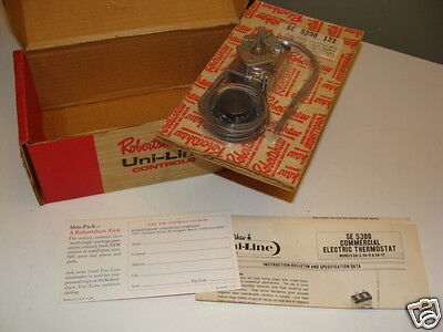 Robertshaw Uni-Line #SE 5300 121 Commercial Electric Thermostat - NIP