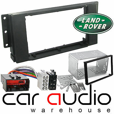 Landrover Range Rover Sport Car Stereo Double Din Fascia Panel & Wiring CT23LR02