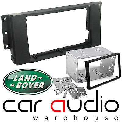 Landrover Discovery 3 Car Stereo Double Din Fascia Panel & Cage Kit DFPK-29-02