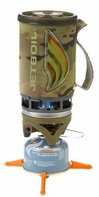 JETBOIL CAMO Flash Personal Cooking Pot Camp Stove System