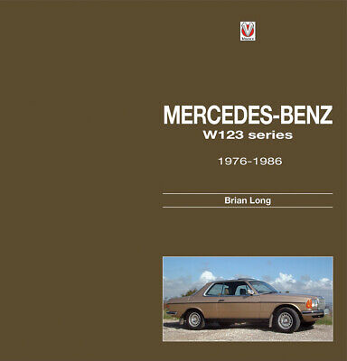 Mercedes Benz W123 series 1976-1986 123 LONG BOOK