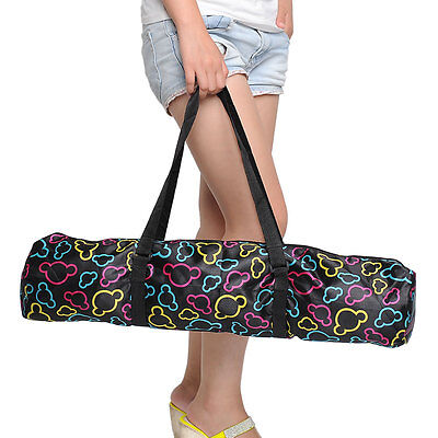 New Durable Portable Waterproof Yoga Pilates Mat Case Bag Carriers Backpack