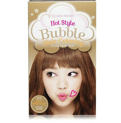 Etude House* Hot Style Bubble Hair Coloring ( #BR08 Natural Brown)**New**
