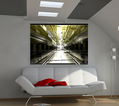 Mirrors large giant 3d poster print photo mural wall art ia101