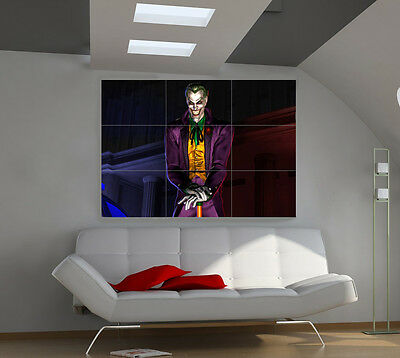 Joker large giant games poster print photo mural wall art ii133