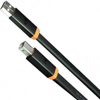 Brand New Oyaide NEO d+ USB Class A Black / Orange 1.0M High Quality DJ Cable